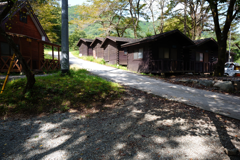 道志の青根キャンプ場でソロキャンプ